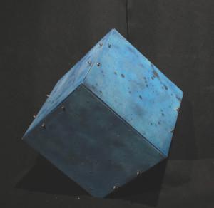 cubo scultura