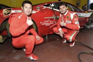 Fisichella e Kobayashi con AF Corse nel WEC