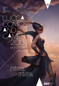 Locandina Lucca Comics 2013 B
