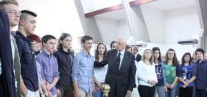napolitano e universitari udine 28.5.2012