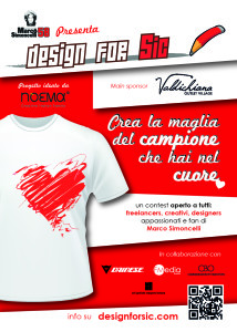 Design for sic - flyer vers logo val di chiana FRONTE