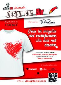 Design for sic - flyer vers logo val di chiana FRONTE