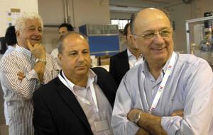 Luciano Brandoni_Marco Pigini_Josè Ronaldo de Carvalho_delegazione in visita alla Brandoni Solare_Castelfidardo (An)
