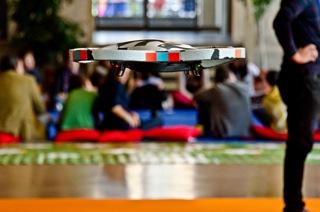 Un drone su Pisa inaugura l'Internet Festival 2014 <br> da domani al 12 ottobre