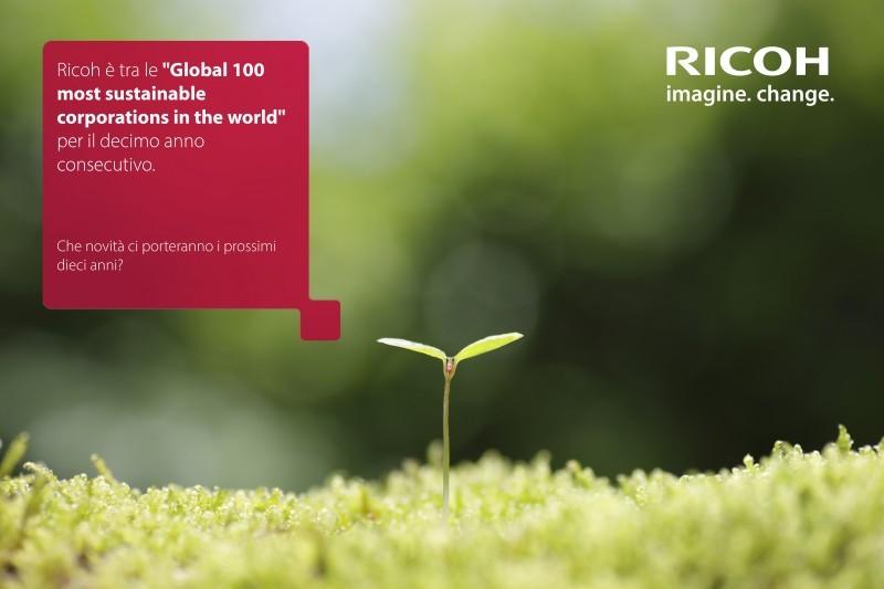 Ricoh premiata per l'impegno verso l'ambiente