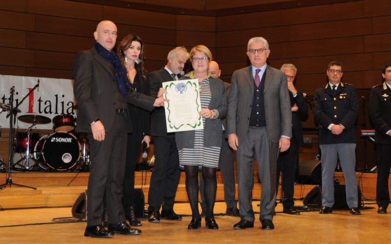 Gruppo Areté premiato per l'impegno sociale