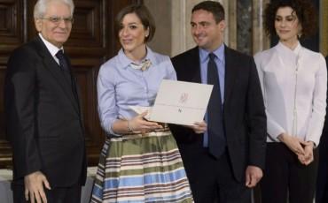 Liu Jo Luxury premia al Quirinale le lauree nel lusso