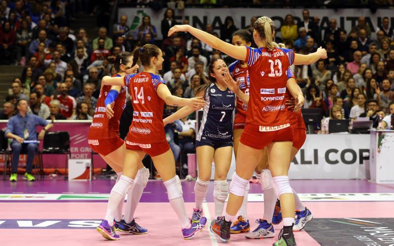 Consultinvest SGR punta sullo sport. Vince la Coppa Italia di volley femminile con Foppapedretti