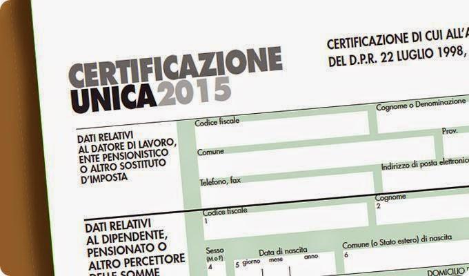 Certificazione Unica, IVA, IRPEF, 730 scadenze in vista