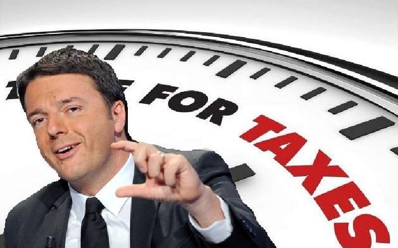 Renzi taglia le tasse. Ma va là è solo un annuncio