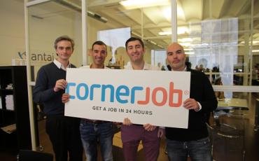 CornerJob raccoglie finanziamenti per dieci milioni di dollari
