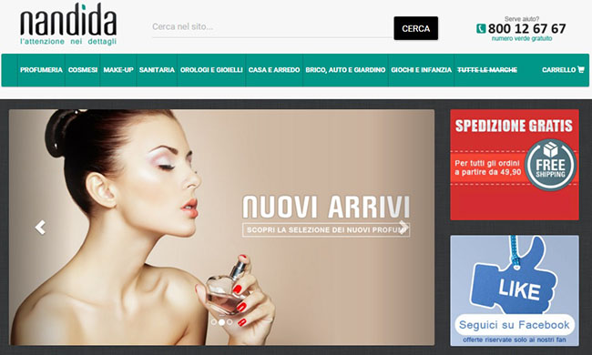Nandida.com: l'e-commerce customer oriented che punta sull'attenzione per i dettagli