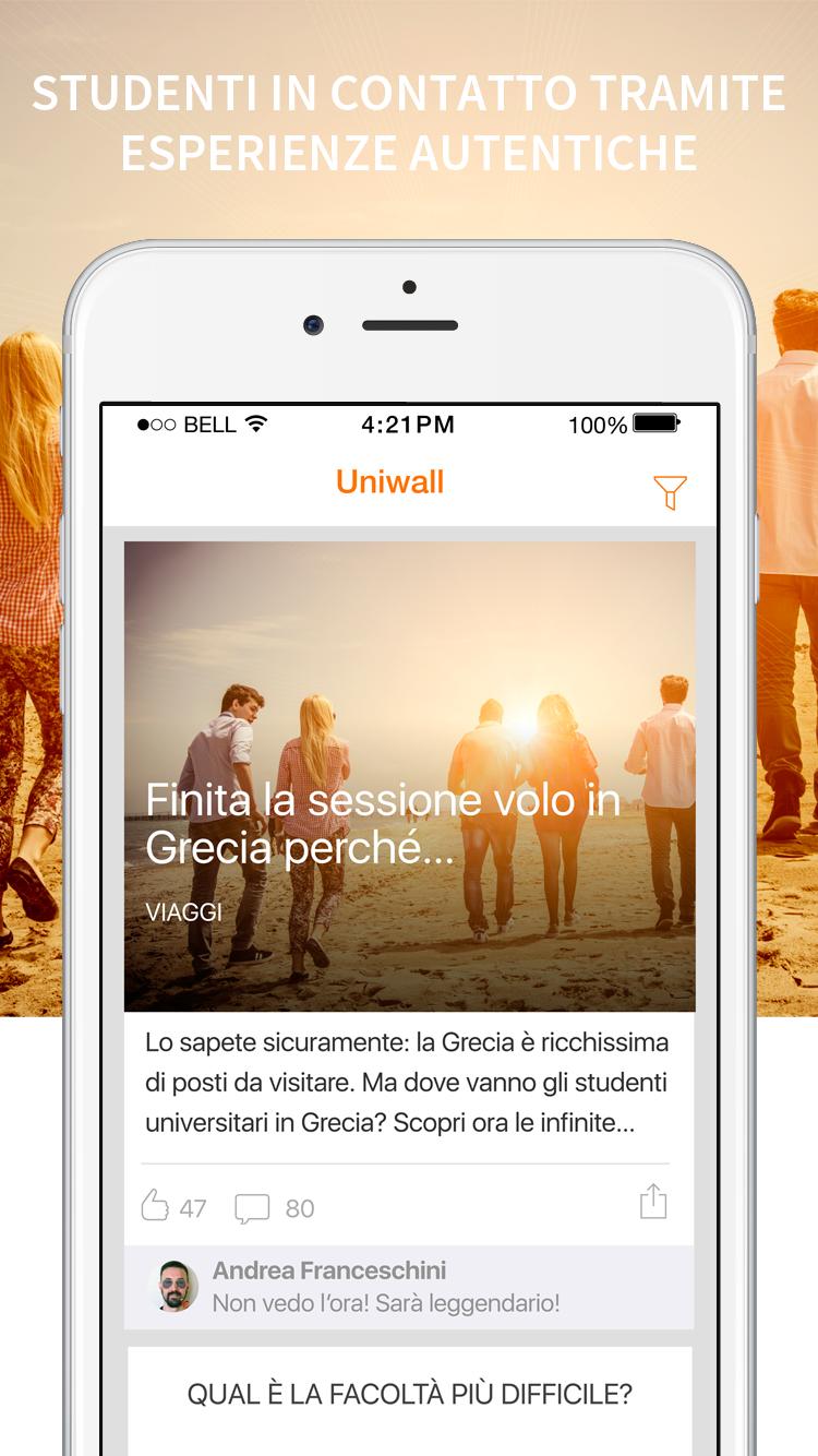 Tutored app- Uniwall