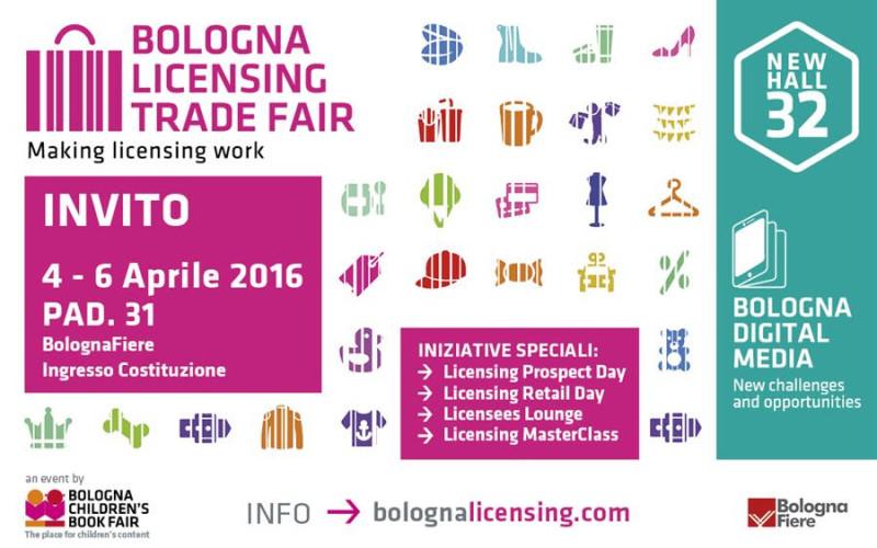 Licensing: 3,18 miliardi si incontrano a Bologna dal 4 al 6 aprile