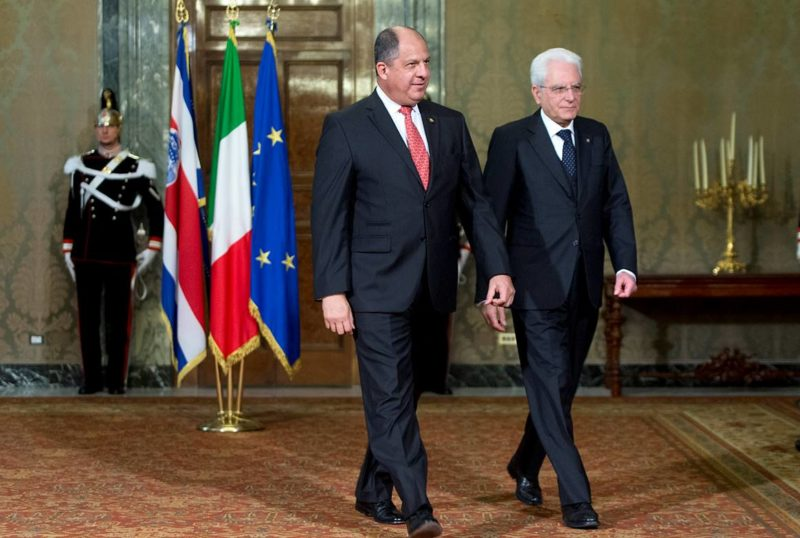 Bilateral Presidencial Costa Rica - Italia 013