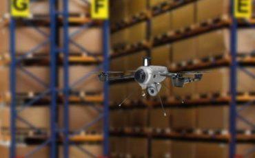 Delta Drone e Geodis insieme: il drone entra nei magazzini