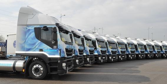 La flotta più numerosa di camion GNL è in Francia
