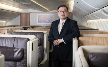 Teck Hui Wong nuovo responsabile Singapore Airlines Italia