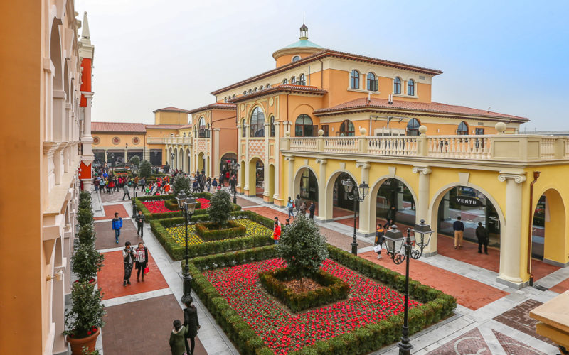 TH Real Estate e Gaw investono in China Outlet Mall
