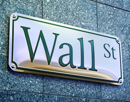 ca. 2002 --- Wall Street Sign --- Image by © Matthias Kulka/zefa/Corbis