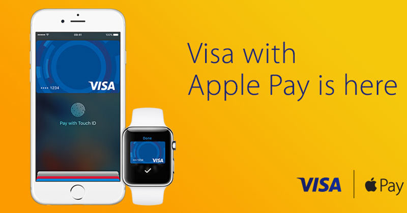 Visa offre accesso a Apple Pay ma solo in 100mila POS Ch