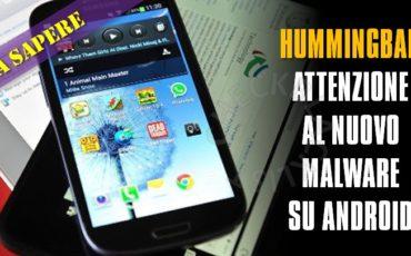 Malware Hummingbad controlla 85 milioni di smartphone