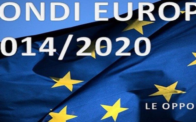 Fondi Ue: esauriti quelli del 2007/13. Attivi quelli 2014/20