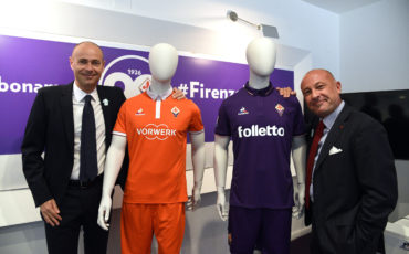 Un Folletto per la Fiorentina. Vorwerk sponsor in Europa League