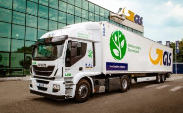GLS amplia la flotta verde con veicoli a gas naturale LNG
