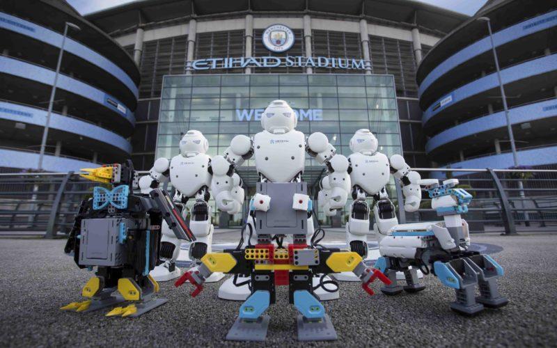 Manchester City vuole conquistare anche la robotica