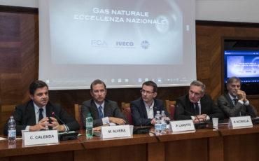 Gas naturale: Fca, Snam e Iveco accendono la rivoluzione