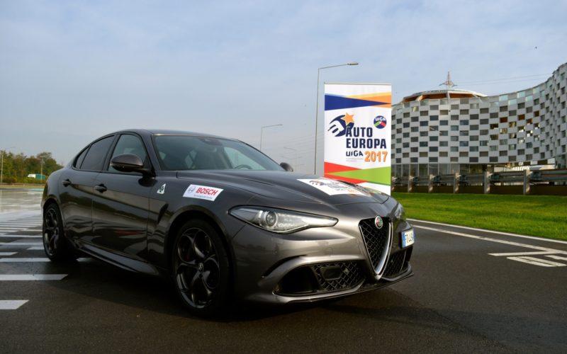 Alfa Romeo Giulia è auto Europa 2017