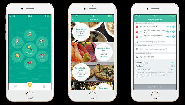 Trecentomila ordini per Glovo startup di anythings delivery