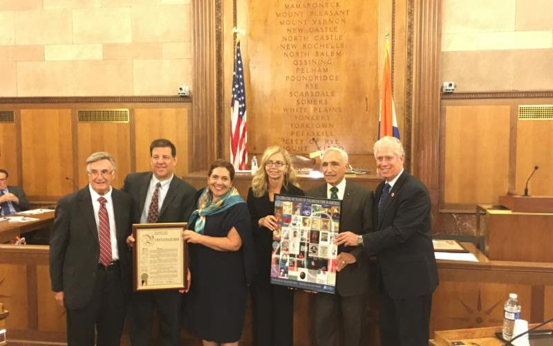 Italiani d'America ieri a Westchester per l'Italian Heritage