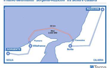 Sicilia: un miliardo di investimento per la rete elettrica