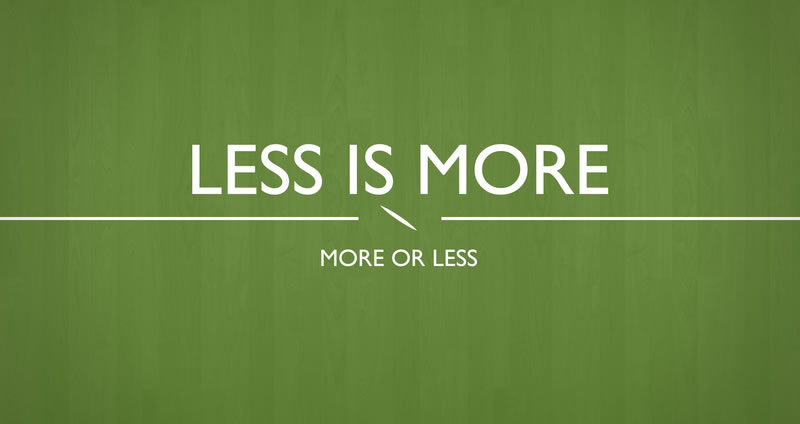 Less Is More: bando per startup fino al 20 novembre