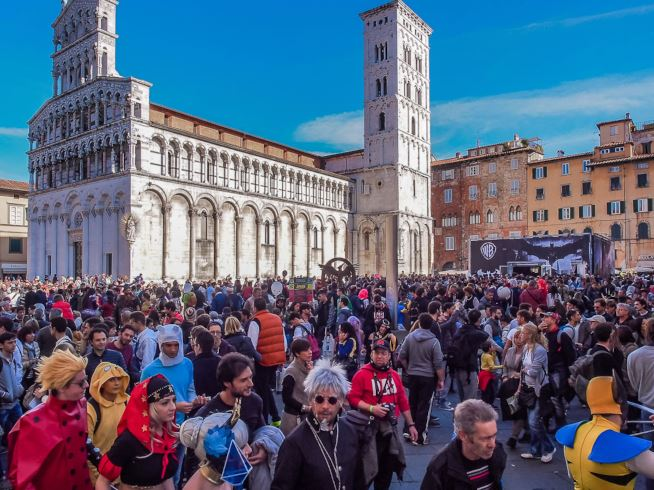 Lucca Comics and Games: pro e contro i temporary store