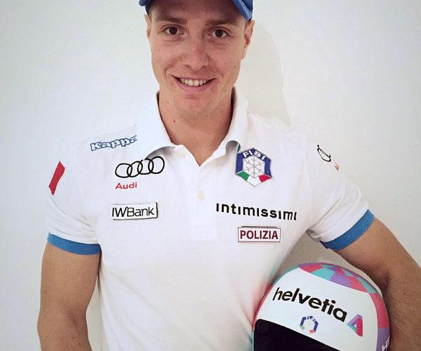 Mattia Casse nuovo atleta dello Ski Team Helvetia