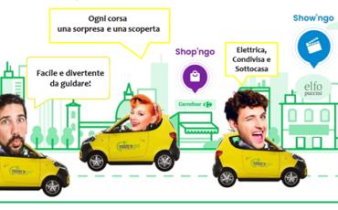 Il car sharing elettrico sposa l'advertising geolocalizzato