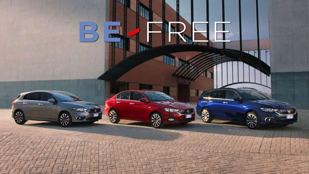 Noleggio Fiat: Be-Free anche per la Tipo