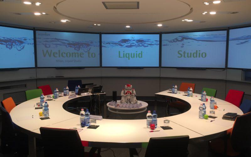 Accenture ha aperto a Milano il Liquid Studio