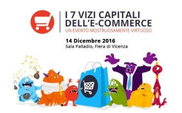 I 7 Vizi Capitali dell'eCommerce svelati a Vicenza il 14 dicembre