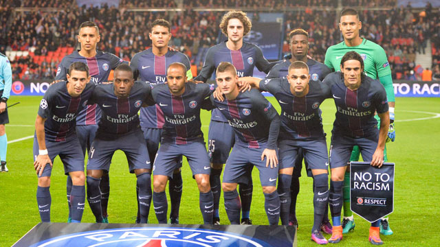 Cavani e il Paris Saint-Germain diventano partner di Ericsson