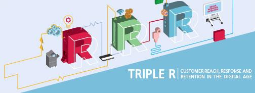 Ricerca Triple R: per i consumatori europei PayPal, Yamaha Motor e Amazon le aziende leader nelle relazioni con i clienti