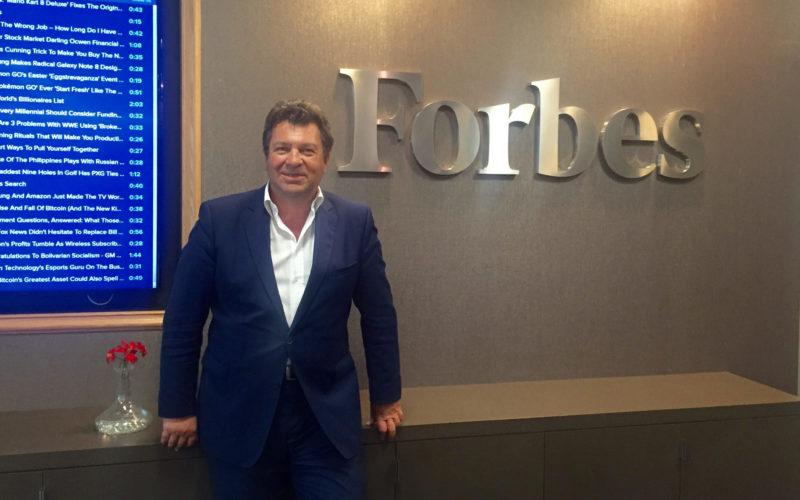 Denis Masetti porta Forbes in Italia con web e stampa