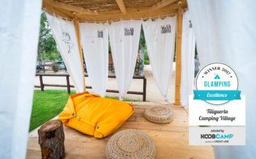 Tiliguerta premiato come miglior campeggio KoobCamp 2017