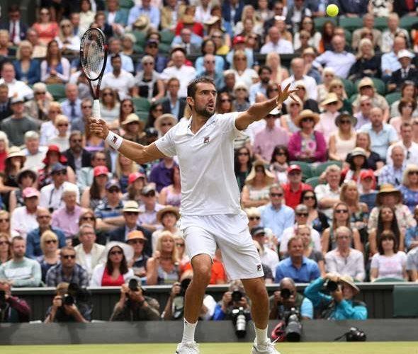 Marin Cilic gioca il miglior tennis di Wimbledon