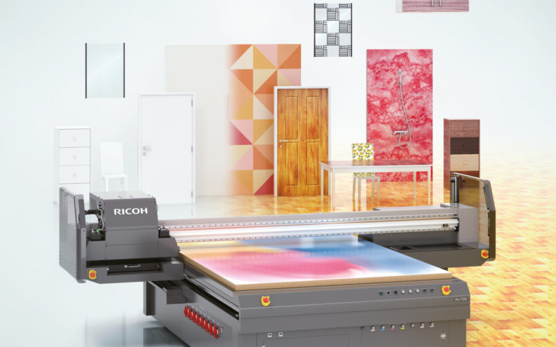 Ricoh entra nel settore dell'Industrial Decoration