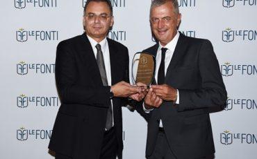 Andrea Bori premiato a Londra come CEO dell'anno