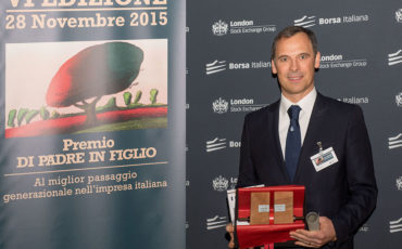 Nocivelli (Epta) vince il premio Family Business Ey